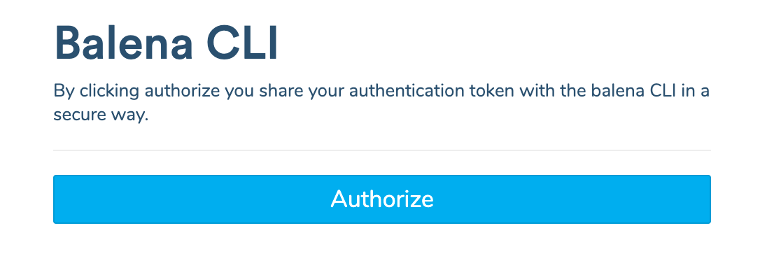 Web authorization